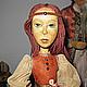 """Коллекционные куклы ручной работы. Ярмарка Мастеров - ручная работа. Купить Деревянная кукла """"Хрупкость бытия"""". Handmade. Авторская кукла"""
