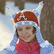 Аксессуары handmade. Livemaster - original item Hat winter warm fun funny