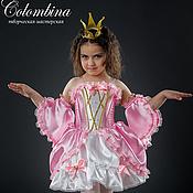 Работы для детей, ручной работы. Ярмарка Мастеров - ручная работа карнавальный костюм принцессы-56. Handmade.