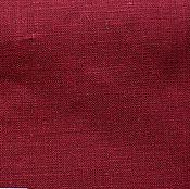 Материалы для творчества ручной работы. Ярмарка Мастеров - ручная работа Лён 100%. Вишневый.. Handmade.
