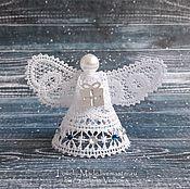 Подарки к праздникам handmade. Livemaster - original item Lace angel. Handmade.