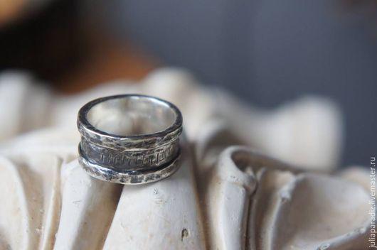 Украшения для мужчин, ручной работы. Ярмарка Мастеров - ручная работа. Купить Мужское кольцо 3 - серебро 925, тонировка.. Handmade.