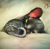 Для дома и интерьера handmade. Livemaster - original item Cupcake, miniature demonic. Handmade.