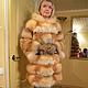 Fox fur coat hooded, Fur Coats, Moscow,  Фото №1