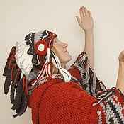 Аксессуары ручной работы. Ярмарка Мастеров - ручная работа шапка - индейский роуч. Handmade.