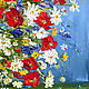 Order Oil painting of Daisies with poppies. Zabaikalie. Livemaster. . Pictures Фото №3