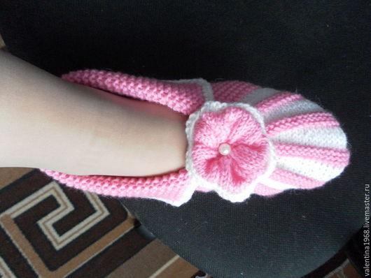 Обувь ручной работы. Ярмарка Мастеров - ручная работа. Купить Следки--Зефирки. Handmade. Розовый, зефирки