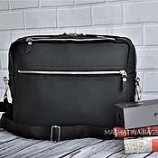 Мужская сумка ручной работы. Ярмарка Мастеров - ручная работа Сумка мужская для ноутбука натуральная кожа. Handmade.