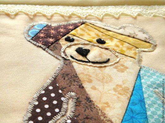 Детская ручной работы. Ярмарка Мастеров - ручная работа. Купить Карман на кроватку Мишка Комплект в кроватку Подвесные карманы. Handmade.