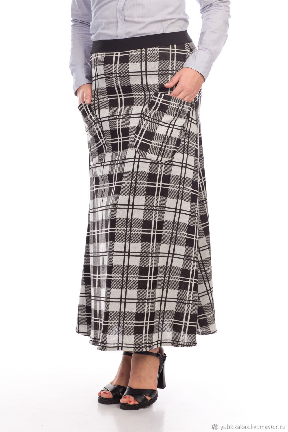 the plaid skirt with pockets, Skirts, Novosibirsk, Фото №1