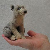 Куклы и игрушки ручной работы. Ярмарка Мастеров - ручная работа Волчонок.. Handmade.