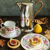 Винтаж handmade. Livemaster - original item Vintage porcelain coffee trio trio Royal Worcester England. Handmade.