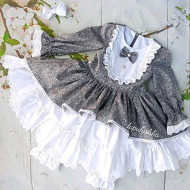 Одежда ручной работы. Ярмарка Мастеров - ручная работа Платье в винтажном стиле. Handmade.