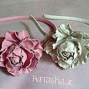 """Украшения ручной работы. Ярмарка Мастеров - ручная работа Ободок для волос  """"Розовая мечта"""". Handmade."""