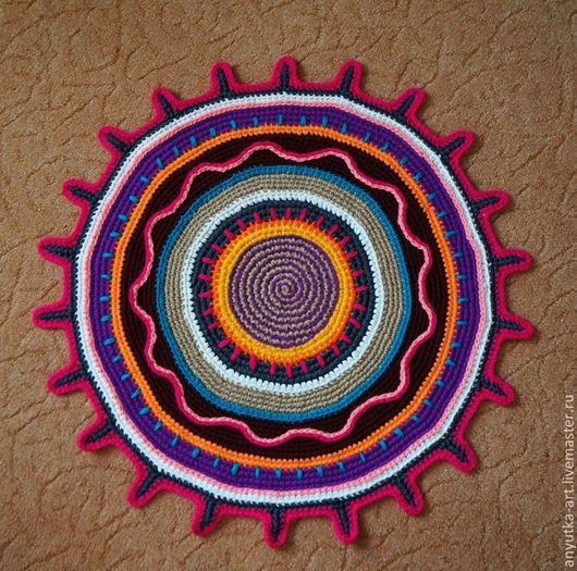 """Текстиль, ковры ручной работы. Ярмарка Мастеров - ручная работа. Купить Коврик """"Мексика"""". Handmade. Разноцветный, коврик в детскую"""