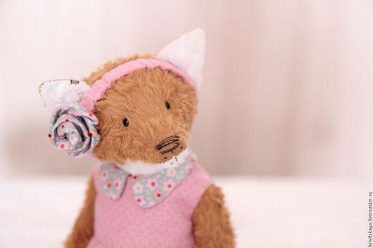Мишки Тедди ручной работы. Ярмарка Мастеров - ручная работа. Купить Justine. Handmade. Рыжий, fox teddy, гранулят