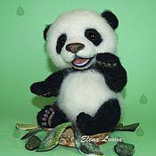 Куклы и игрушки ручной работы. Ярмарка Мастеров - ручная работа панда Такеши. Handmade.