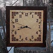 Для дома и интерьера ручной работы. Ярмарка Мастеров - ручная работа Часы `Плетистая роза`. Handmade.