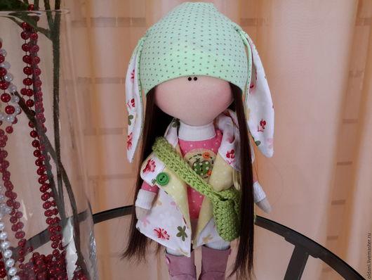 Куклы тыквоголовки ручной работы. Ярмарка Мастеров - ручная работа. Купить Интерьерная кукла. Handmade. Комбинированный, текстильная кукла, кукла
