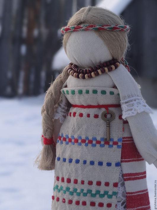 """Народные куклы ручной работы. Ярмарка Мастеров - ручная работа. Купить народная куколка """"Сквозь лета..."""". Handmade. Белый"""