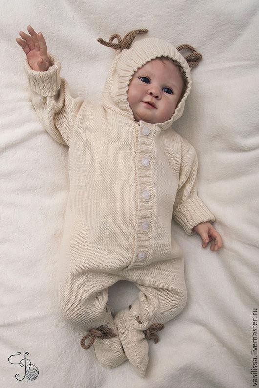 комбинезон для новорожденных Мишки