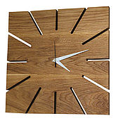 Для дома и интерьера handmade. Livemaster - original item Wall clock made of wood. Handmade.