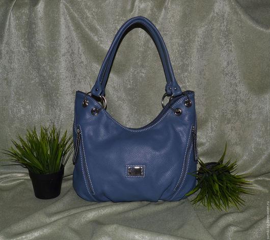 Женские сумки ручной работы. Ярмарка Мастеров - ручная работа. Купить Модель 10. Handmade. Женская сумка, синий