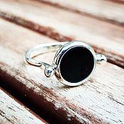Украшения handmade. Livemaster - original item Ring with onyx. Handmade.