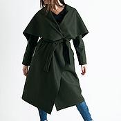Одежда handmade. Livemaster - original item Stylish cashmere coat by EUG FASHION - CT0309CA. Handmade.