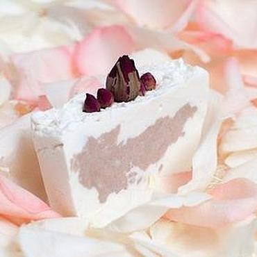 """Косметика ручной работы. Ярмарка Мастеров - ручная работа """"Розовый сад"""" взбитое натуральное мыло с нуля. Handmade."""