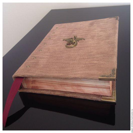 """Блокноты ручной работы. Ярмарка Мастеров - ручная работа. Купить блокнот """"Игра престолов"""". Handmade. Коричневый, блокнот из кожи, драконий"""