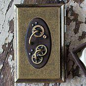 Подарки к праздникам ручной работы. Ярмарка Мастеров - ручная работа Стимпанк портсигар. Handmade.