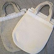 Сумки и аксессуары handmade. Livemaster - original item Bag-bag for goods made of eco-fabrics. Handmade.