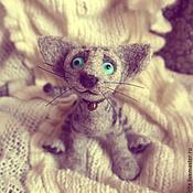 Куклы и игрушки ручной работы. Ярмарка Мастеров - ручная работа Котик Баунти. Handmade.