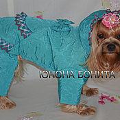 """Для домашних животных, ручной работы. Ярмарка Мастеров - ручная работа Комбинезон-пальто """"Лакшми"""". Handmade."""