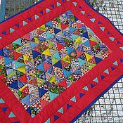 Для дома и интерьера ручной работы. Ярмарка Мастеров - ручная работа Детское лоскутное  одеялко. Handmade.