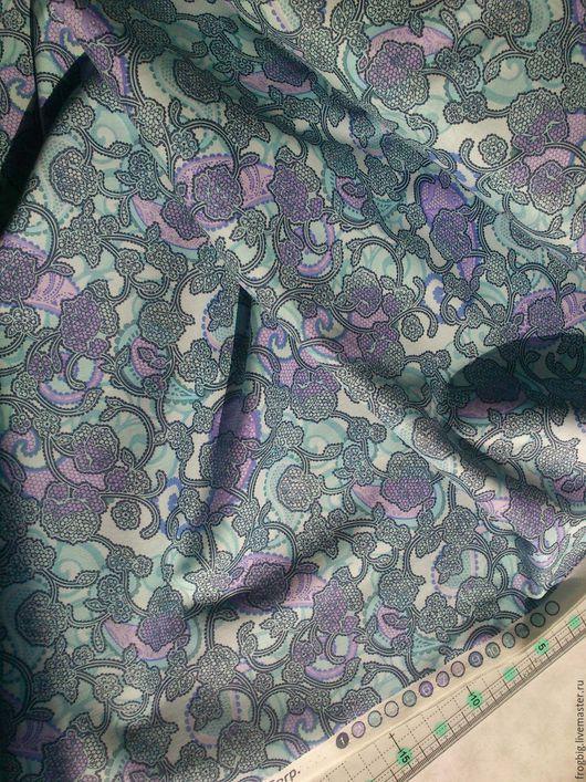 Шитье ручной работы. Ярмарка Мастеров - ручная работа. Купить Ткань для пэчворка и шитья 38. Handmade. Бирюзовый, голубой цвет
