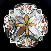 Украшения ручной работы. Ярмарка Мастеров - ручная работа Серебряное кольцо с перламутром, 925 проба. Handmade.
