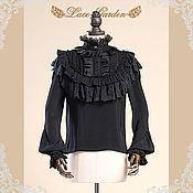 Одежда handmade. Livemaster - original item Victorian Edwardian Ruffled  Blouse. Handmade.