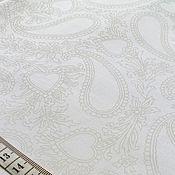 Материалы для творчества ручной работы. Ярмарка Мастеров - ручная работа ткань хлопок США (Quilting Treasures) 50x55 см (1/4 метра) белая. Handmade.