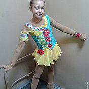 Работы для детей, handmade. Livemaster - original item Figure skating dress. Handmade.