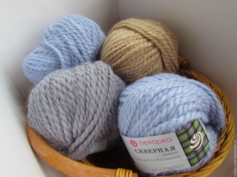 Популярная пряжа для вязания спицами