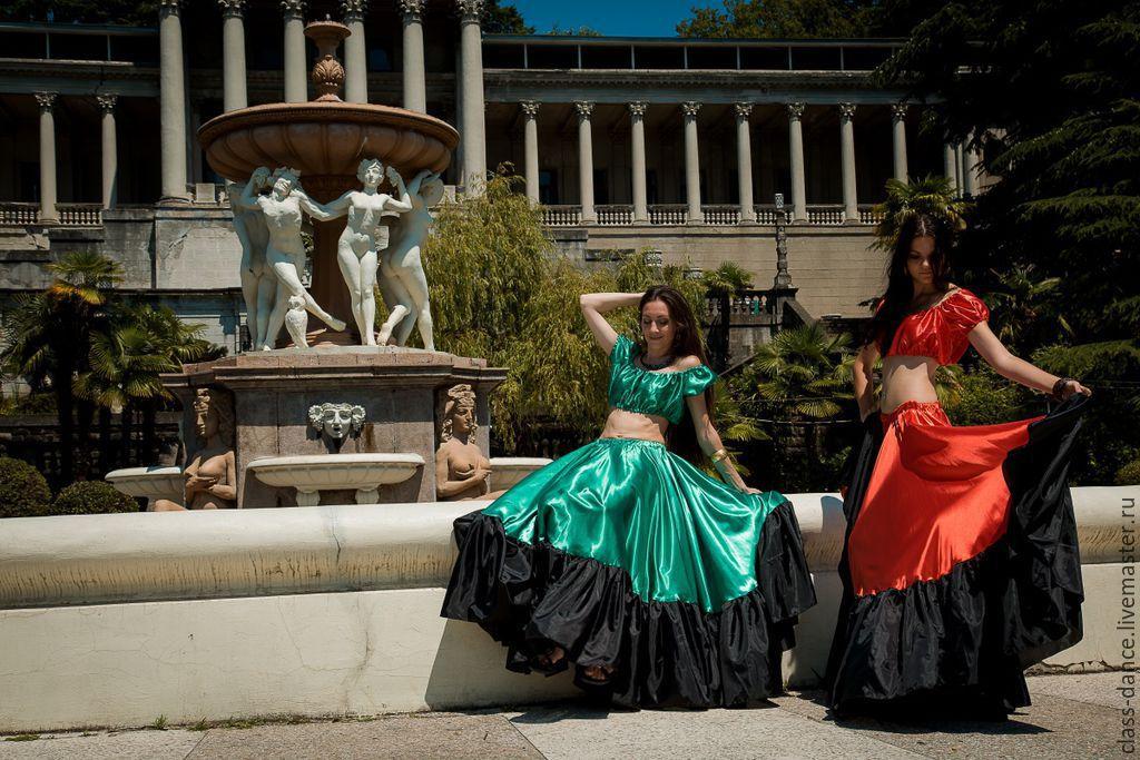 Цыганская юбка купить в москве