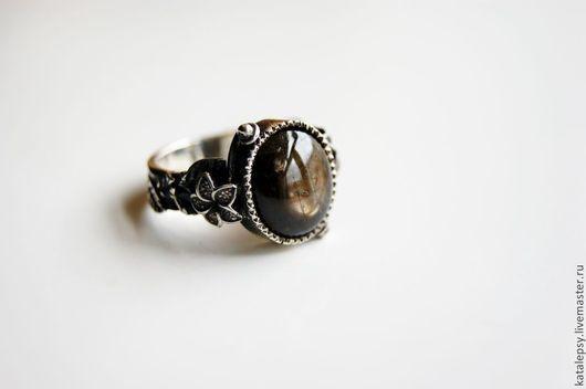 """Кольца ручной работы. Ярмарка Мастеров - ручная работа. Купить Кольцо """"Пряные травы"""". Handmade. Разноцветный, кольцо из серебра"""