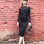 Одежда handmade. Livemaster - original item Suit, skirt and top! Suit black !. Handmade.