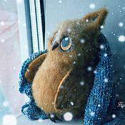 """Куклы и игрушки ручной работы. Ярмарка Мастеров - ручная работа Совенок """"В ожидании чуда"""". Handmade."""