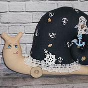 Куклы и игрушки ручной работы. Ярмарка Мастеров - ручная работа Улитка в стиле Тильда.. Handmade.