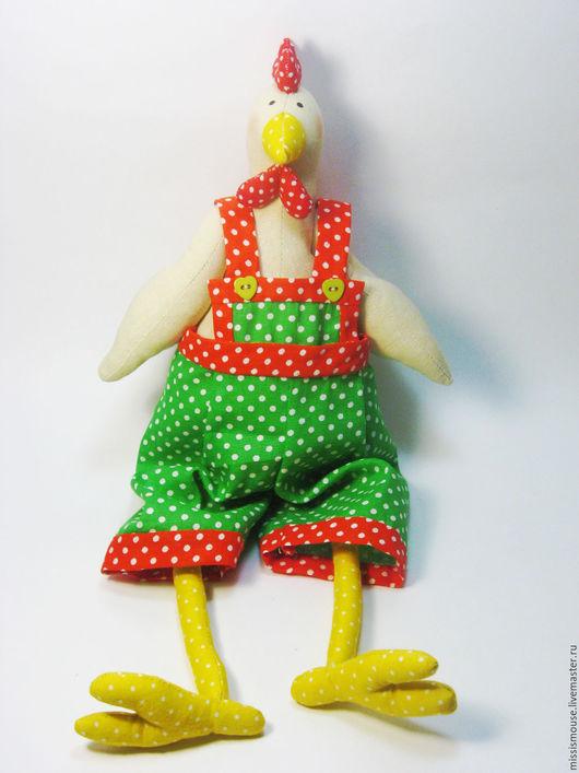 Куклы Тильды ручной работы. Ярмарка Мастеров - ручная работа. Купить Петух игрушка. Handmade. Петух, новогодний петух
