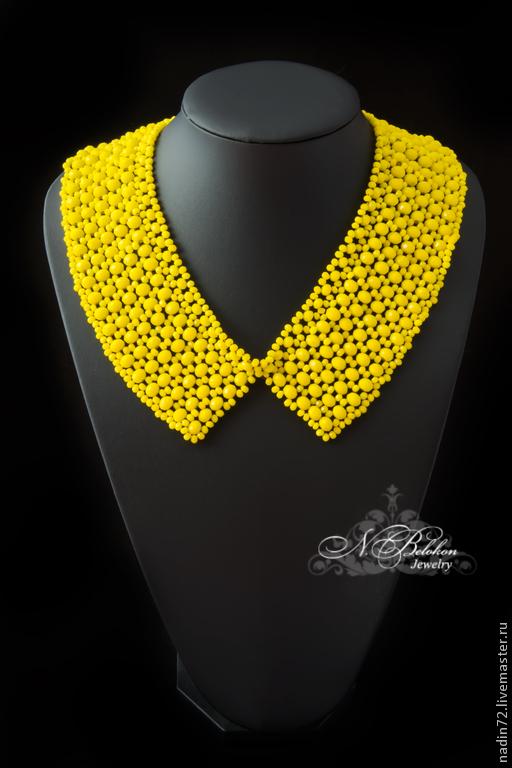 Collar of glass beads, Collars, Ulyanovsk,  Фото №1