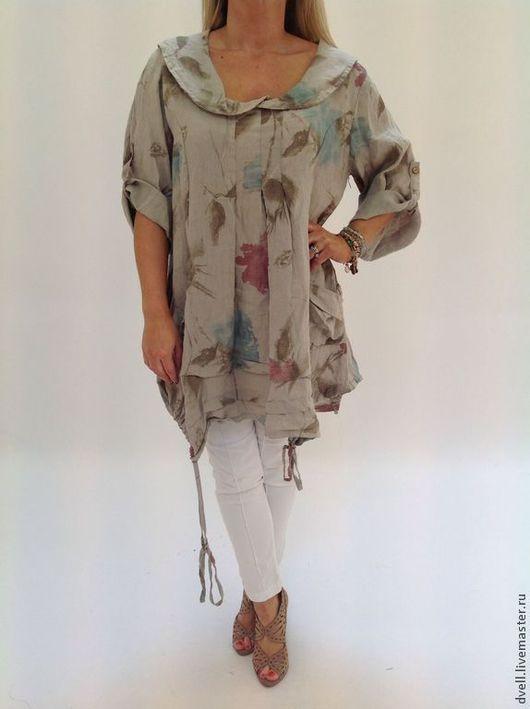 Большие размеры ручной работы. Ярмарка Мастеров - ручная работа. Купить Женственный образ бохо  блуза для души 48 50 52.... Handmade.